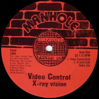 X-Ray Vision - Video Control (Vinyl, 12\'\' 1984)(Manhole Record Co.)