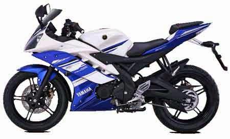 Yamaha R15 Warma Biru