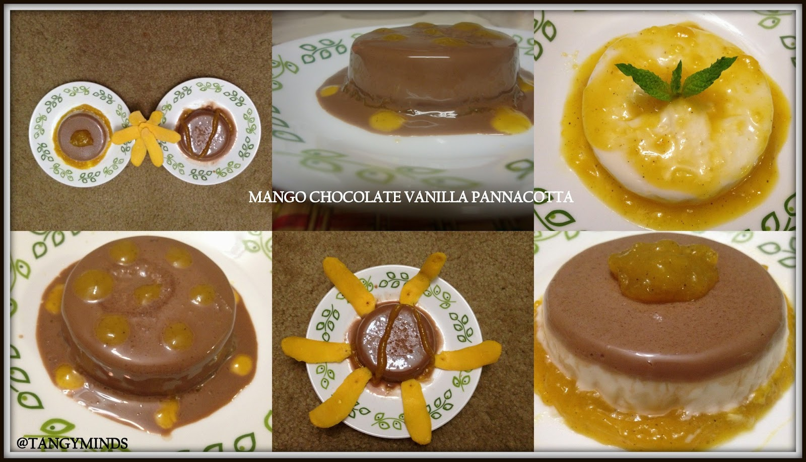 Plate Garnishes for Entries http://tangymind.blogspot.com/2013/04/mango-vanilla-chocolate-panna.html