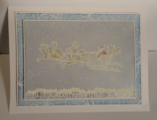 Sleigh Christmas card