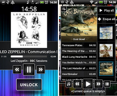 N7 Android Music Player