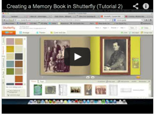Olive Tree Genealogy Blog: Creating a Memory Book - Video Tutorials