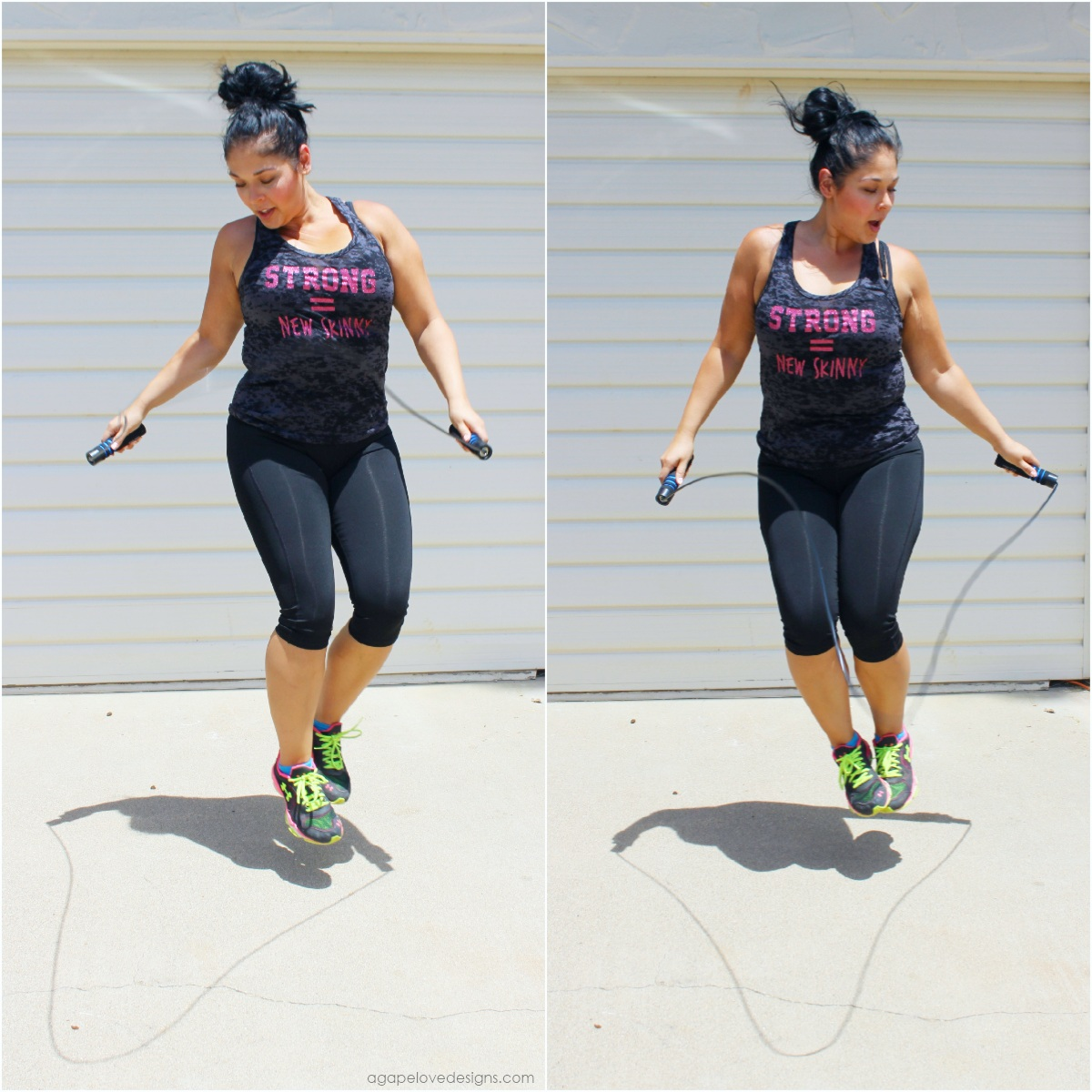 Agape Love Designs: Get A Full Body Workout - Jumping Rope!