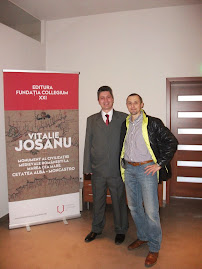 Împreună cu Vitalie Josanu, 13.02.2015...