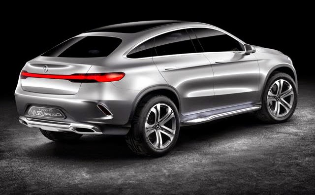 New Mercedes Concept Coupe SUV