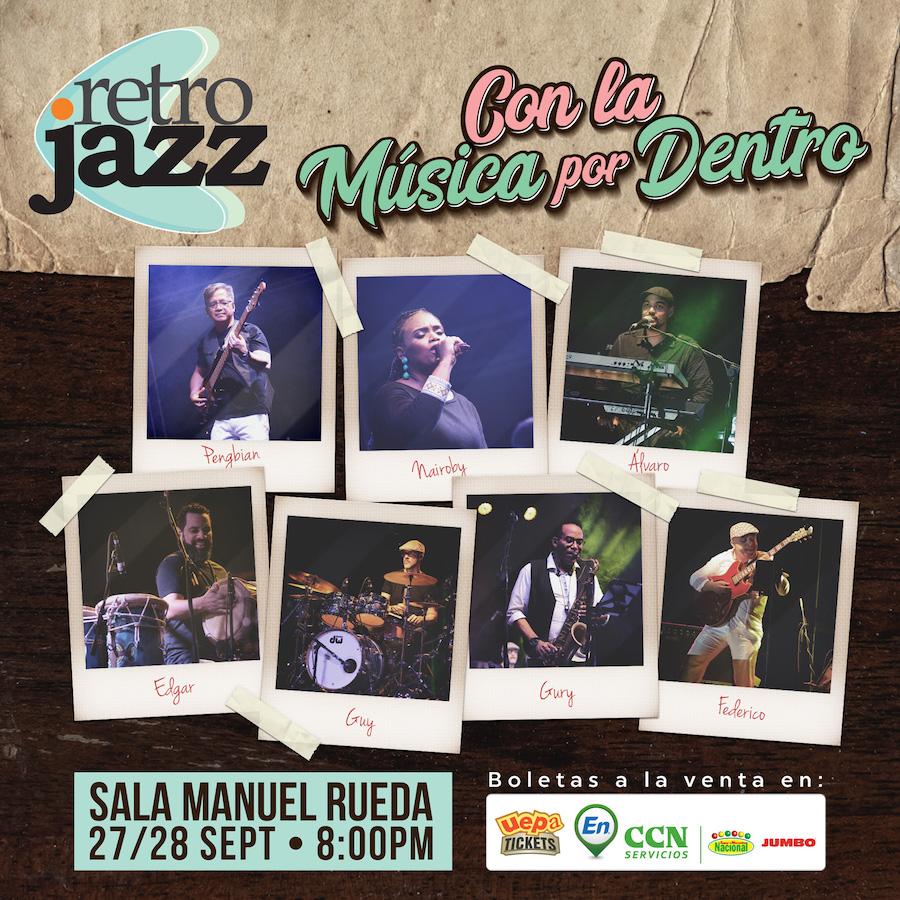 Retro Jazz - Con la Música por Dentro