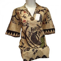 Busana Batik Wanita Modern