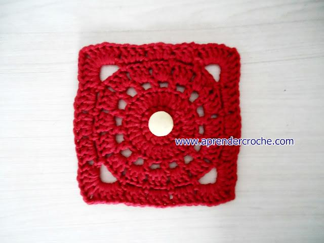 quadrados em croche square video-aulas gratis aprender croche loja curso de croche edinir-croche