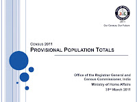 CENSUS 2011 (PROVISIONAL)