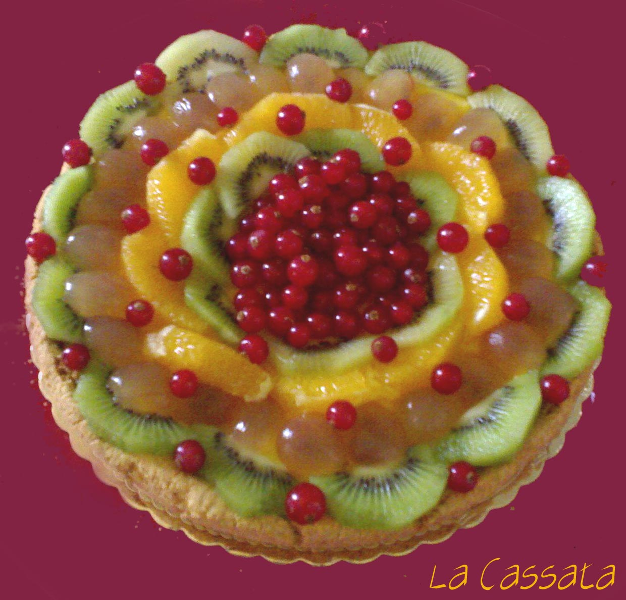 tarte aux fruits 2 la cassata
