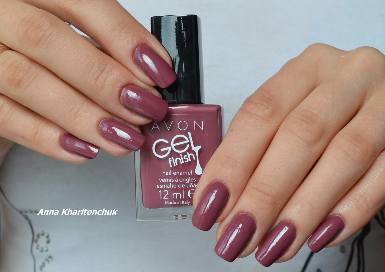 Avon Gel Finish Mauvelous