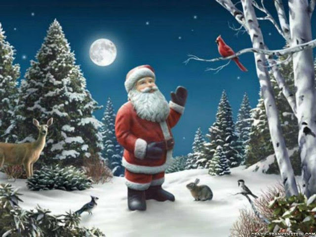 real santa claus pictures