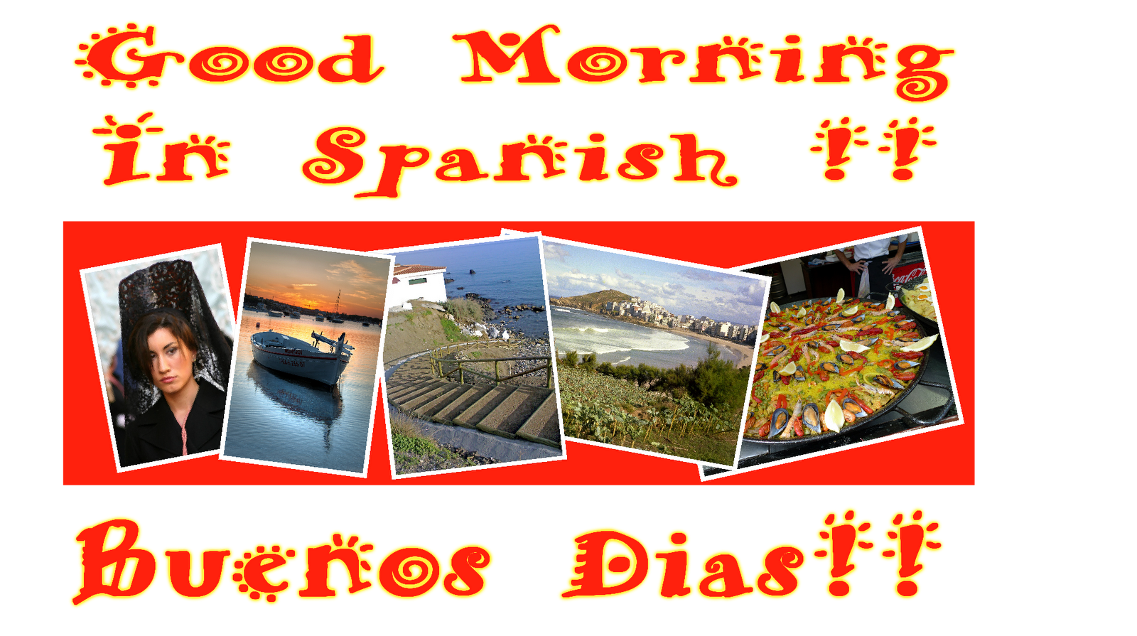 Good Morning In Spanish Is What : Good morning in spanish