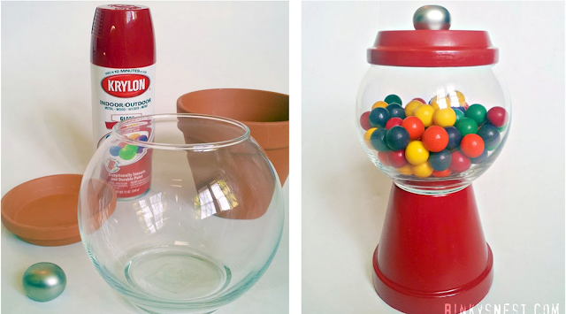 Fishbowl & Planter Gumball Machine: Our 8 Favorite Upcycled DIY's for Your Home