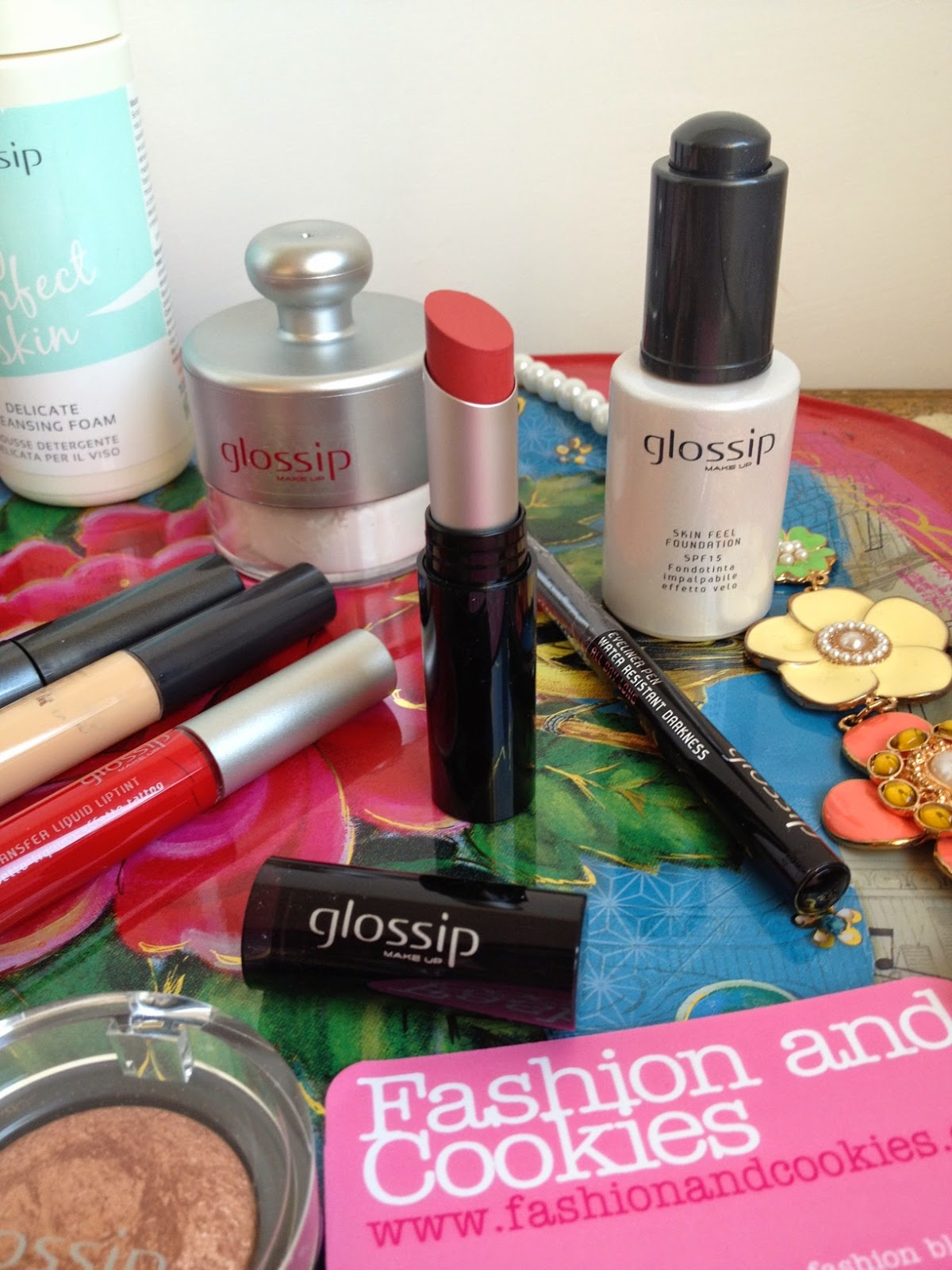 Glossip Milano make-up, Glossip rossetto, italian brand, trucco, beauty, Fashion and Cookies fashion blog