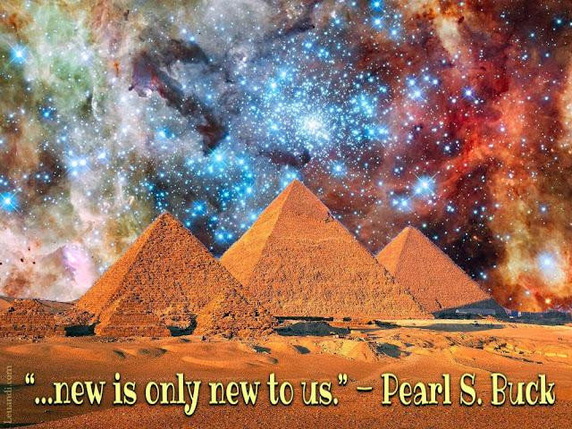 universe, progress, technology, ancient, modern, Pearl S. Buck