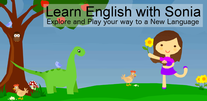 English Game - Learn English with Sonia! Explore and Play your way to a New Language!