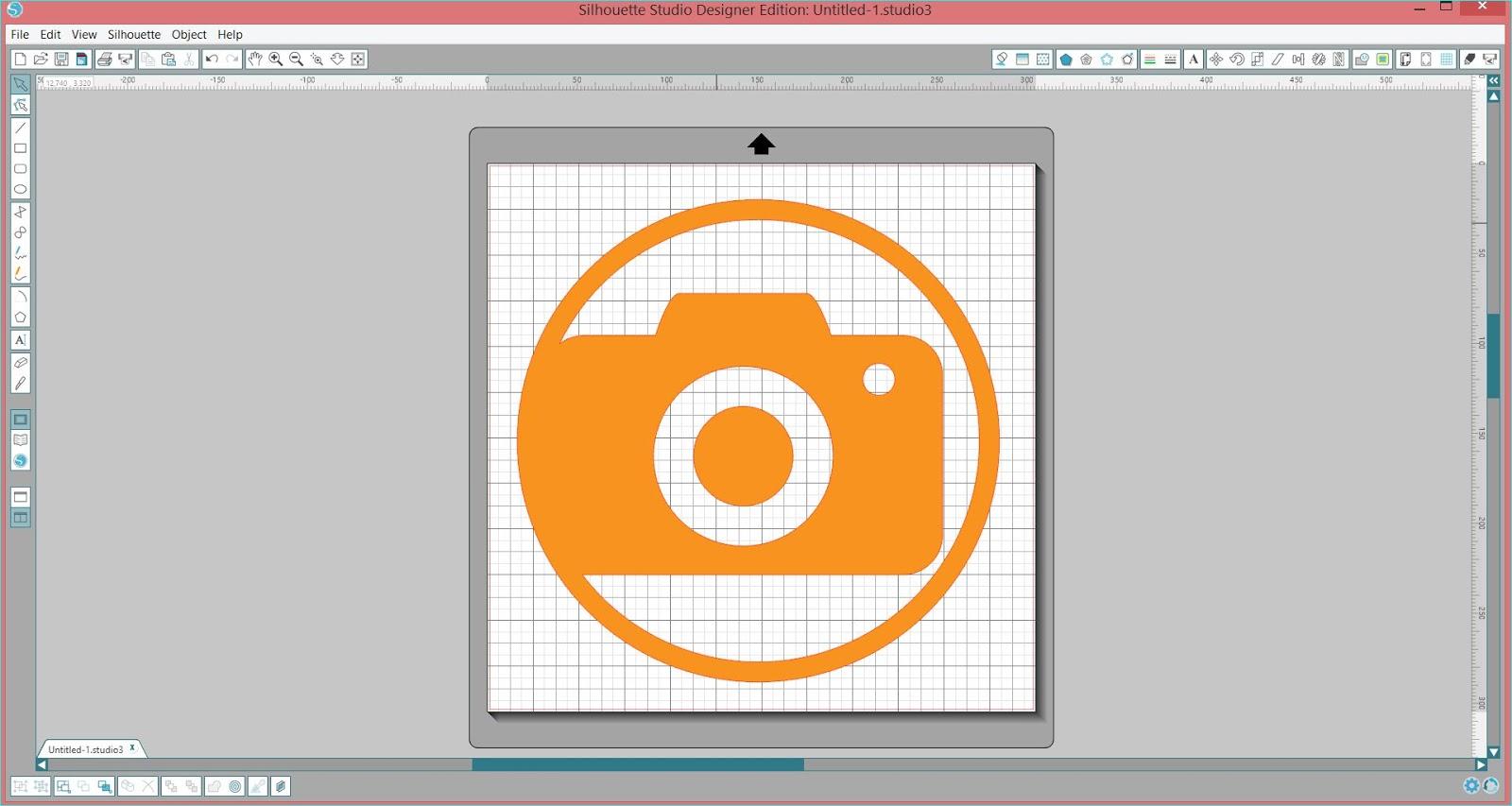17turtles Digital Cut File Everyday Circle Clip
