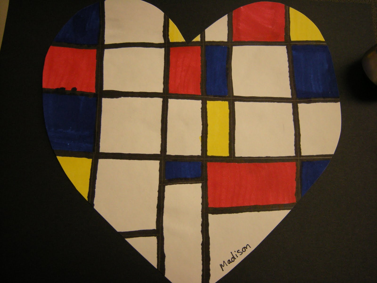 Fantastic Mondrian Wall Art Component - Wall Art Collections ...
