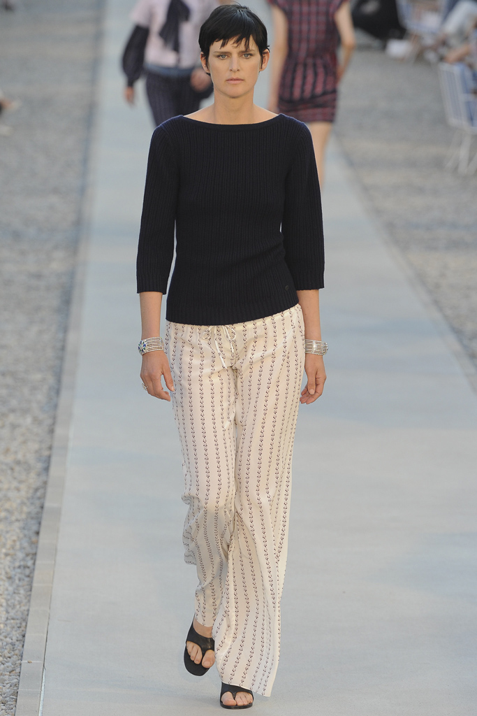 via fashioned by love | Chanel Cruise 2012