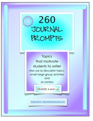 photo of 260 Journal Prompts, Free, PDF, journal prompts, writing, Ruth S.