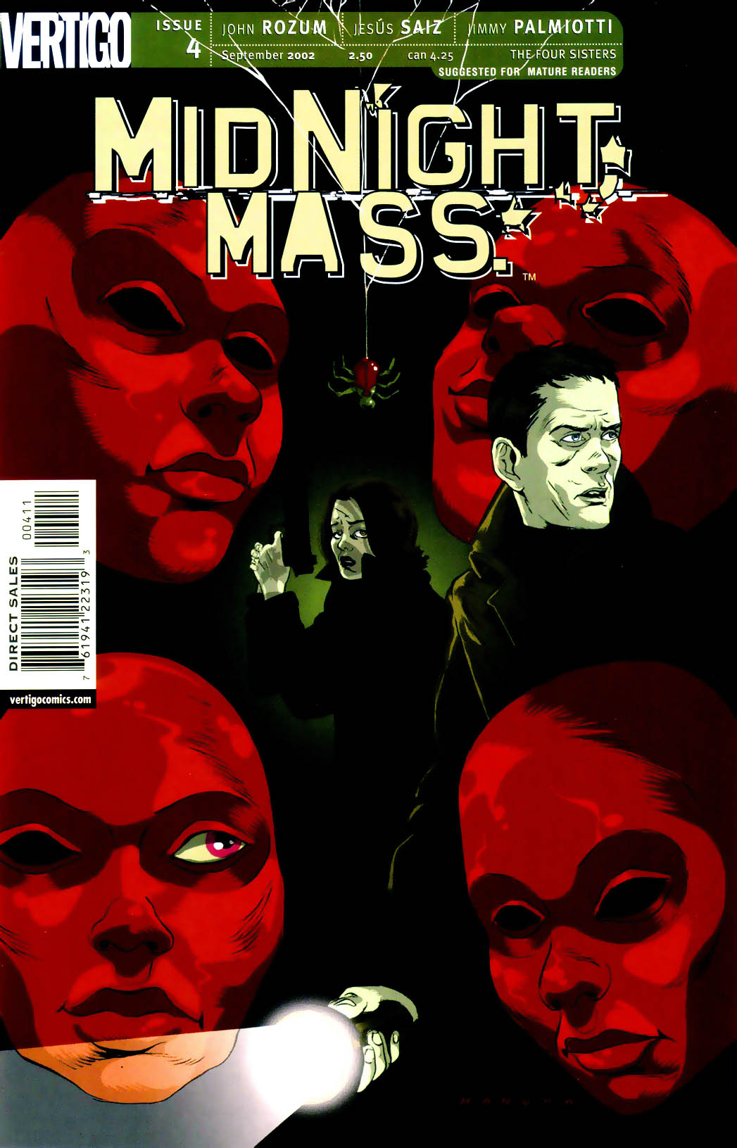 Midnight, Mass issue 4 - Page 1