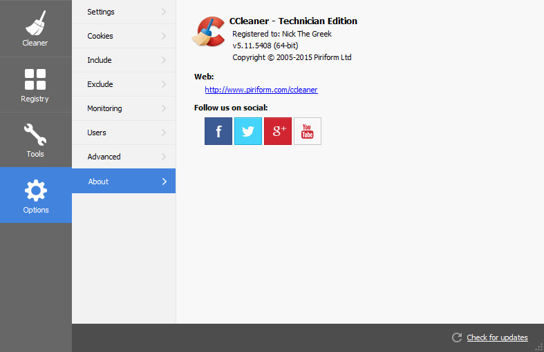CCleaner Universal Crack for All Version & Edition - By ...