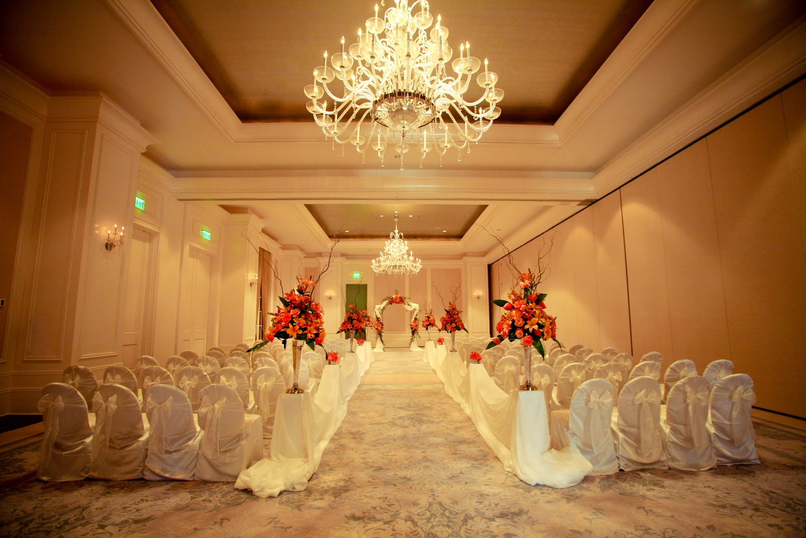 St regis wedding anik 39 s flowers for Design hotel wedding