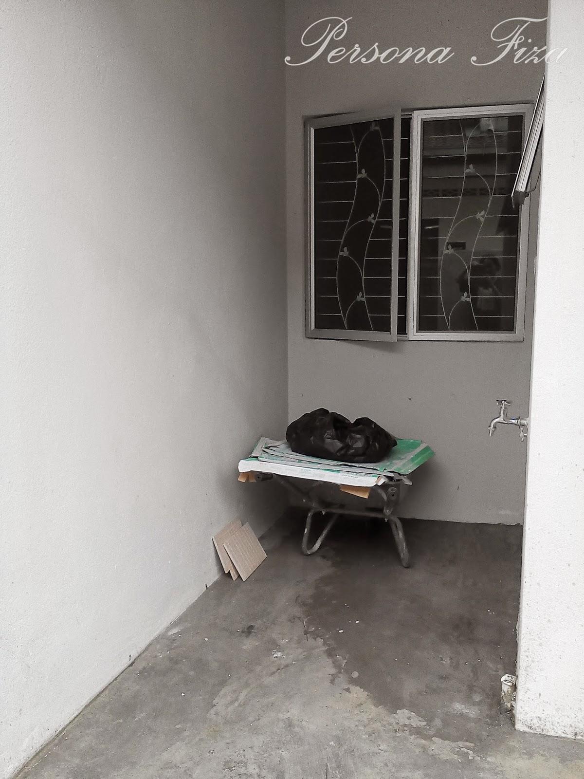 persona fiza extend dapur lantai tembok grill