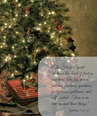 The Fruit of the Spirit as a Christmas Gift  {Reading List}