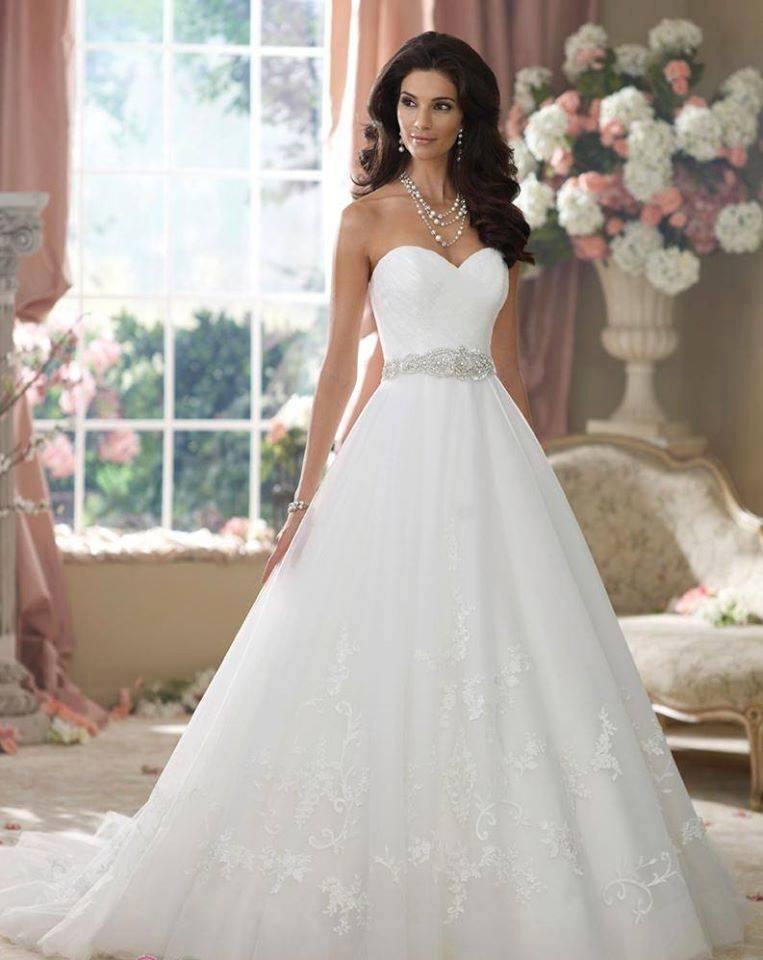 vestidos de novias elegantes y modernos - artes davinci - ideas con