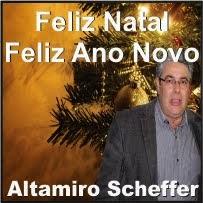 Nova Laranjeiras:Altamiro Scheffer e Família deseja a todos um Feliz natal e um próspero ano novo!!
