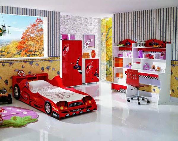 desain kamar tidur bayi laki-laki