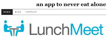 LunchMeet app