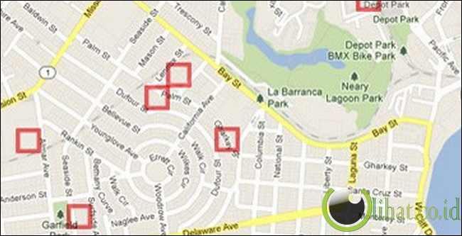 Aplikasi Pemetaan yang Canggih