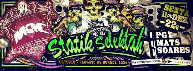 M.A.C. Festival promove noite especial com Statik Selektah (EUA)