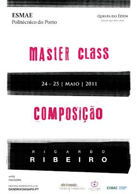 Master Class - Ricardo Ribeiro