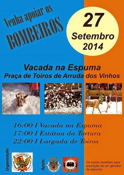 Arruda dos Vinhos- 27 Setembro (Sábado)