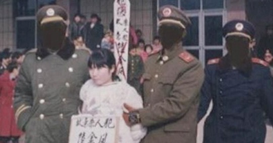Gambar Terakhir 5 Wanita Cantik Sebelum Dihukum Mati