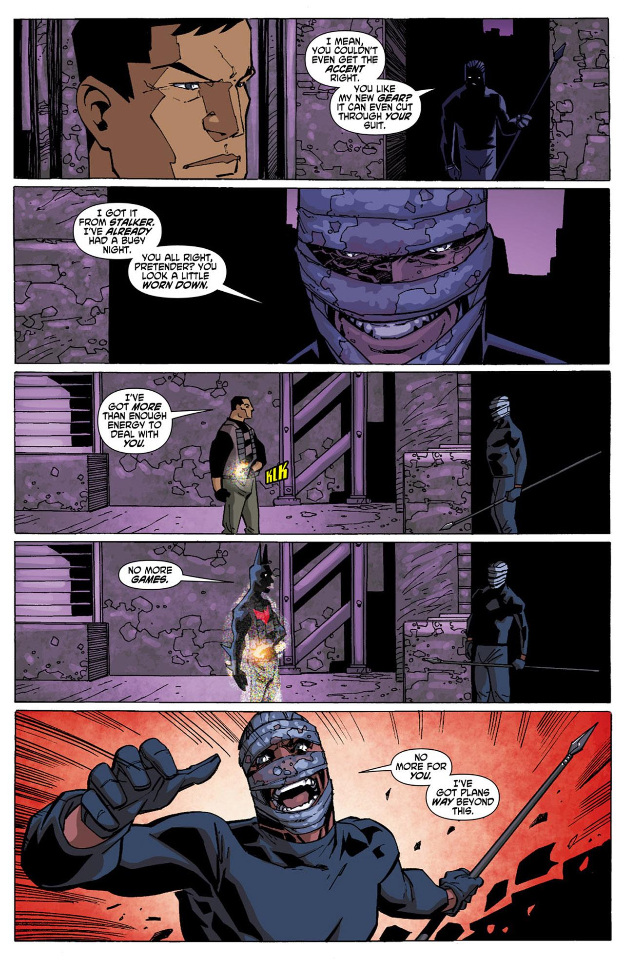 Batman Beyond (2010) Issue #4 #4 - English 19