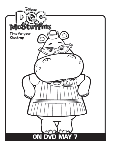 One Savvy Mom Nyc Area Mom Blog 9 Free Disney Doc Mcstuffins Doc Mcstuffins Printable Coloring Pages