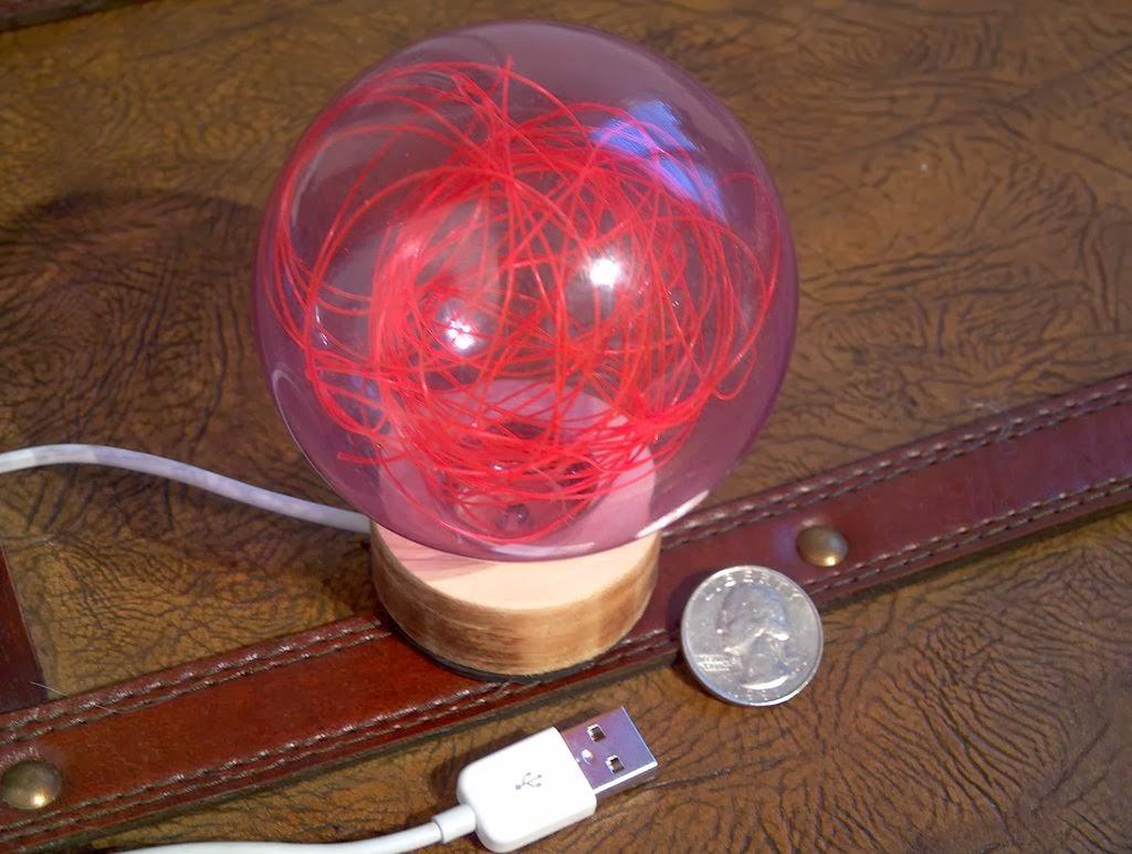 Декоративная лампа своими руками 35