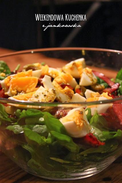 Spinach Salad / Sałatka ze szpinakiem