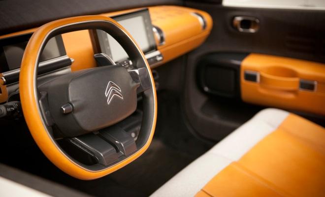 Citroen Cactus concept front interior