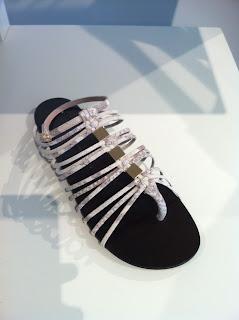 Giuseppe Zanotti Beige Strappy Sandal