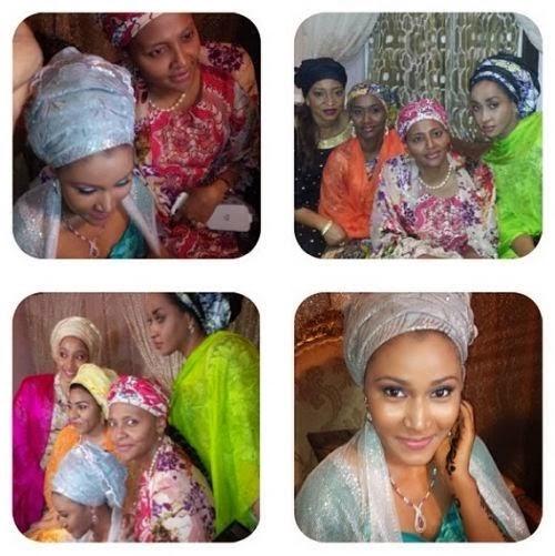 Gumsu abacha wedding pictures