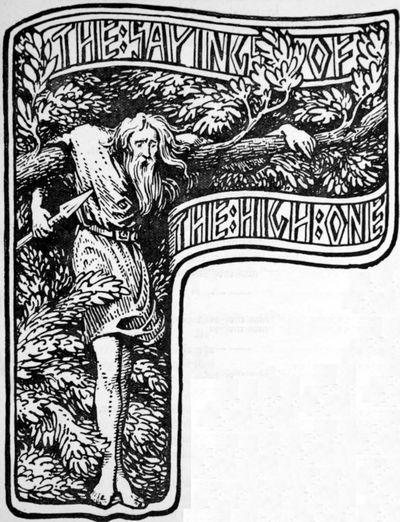 The Hanged Man Self Sacrifice เสียสละ อุทิศตน Odin Norse Yggdrasil