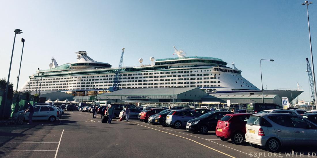 Explorer of the Seas, Royal Caribbean ship, Southampton City Cruise
