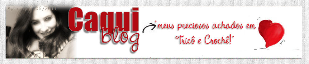 Caquiblog tricô e croche