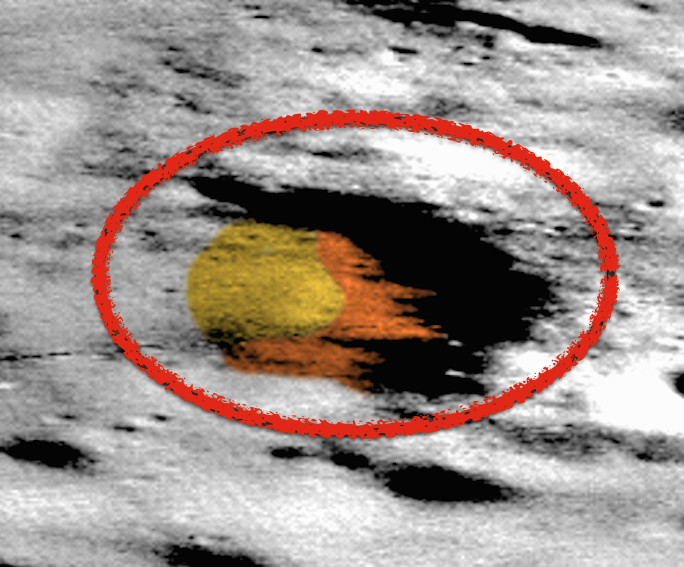 Amazing Face Found On Moon